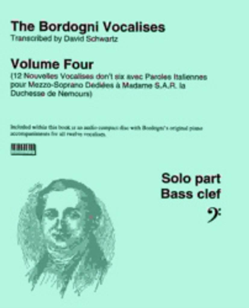 Bordogni Vocalises, Volume 4