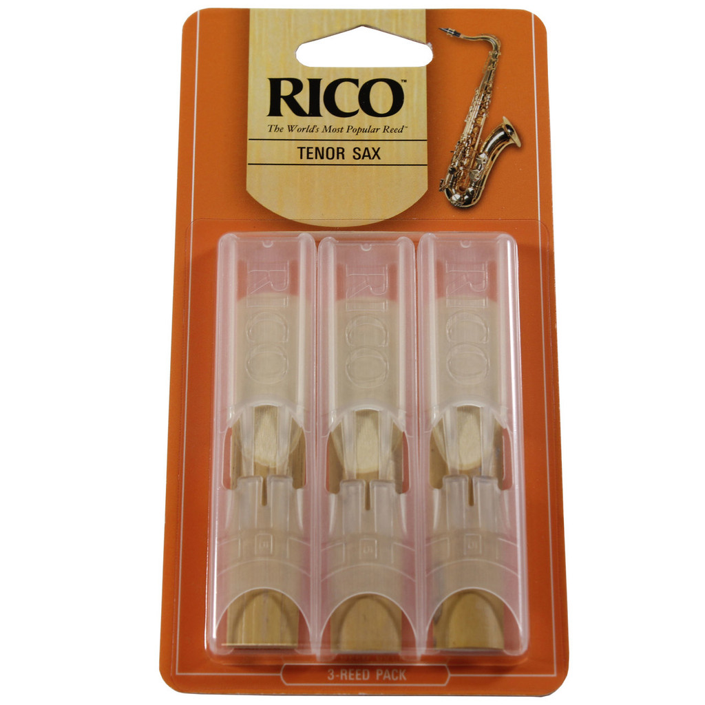 Rico Tenor Reeds, 3-Pack