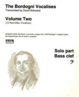 Bordogni Vocalises, Volume 2