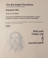 Bordogni for Treble Volume 6