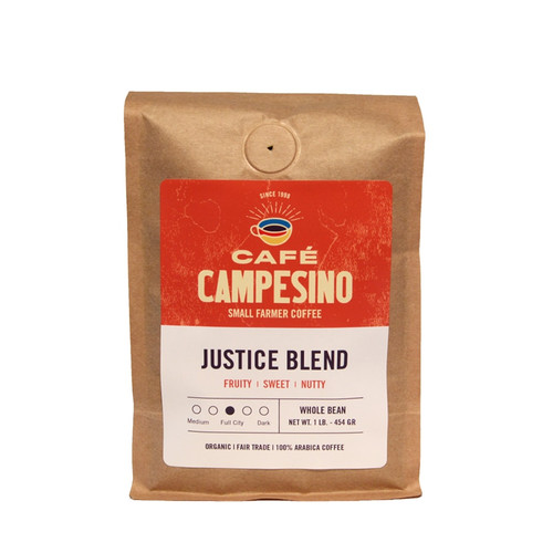 Justice Blend Full City Roast Coffee
