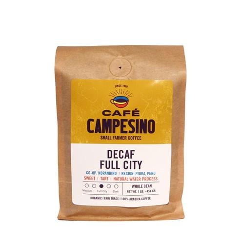 House Blend Decaf Full City Roast Coffee