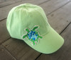 Hat with Sea Turtle Applique