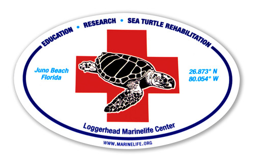 "4"" x 6"" oval LMC rescue sticker"