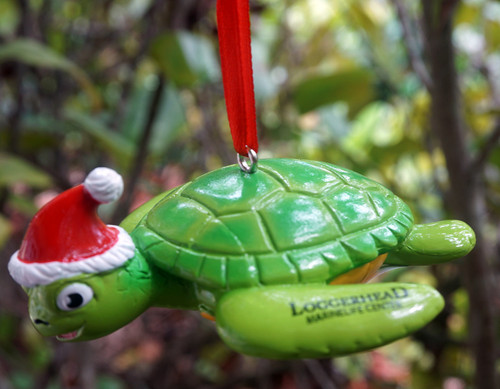 Holiday Turtle Ornament