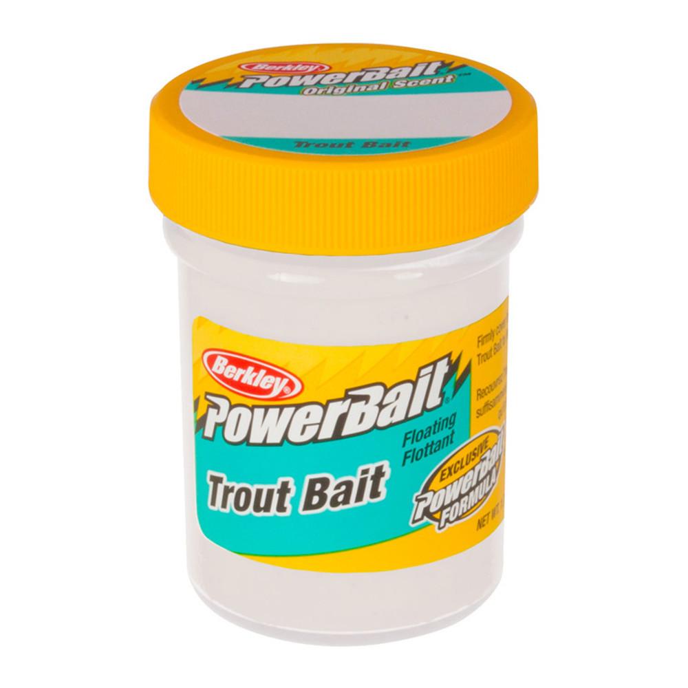 PowerBait Original Scent Trout Bait, 50 g In Marsh-mellow White