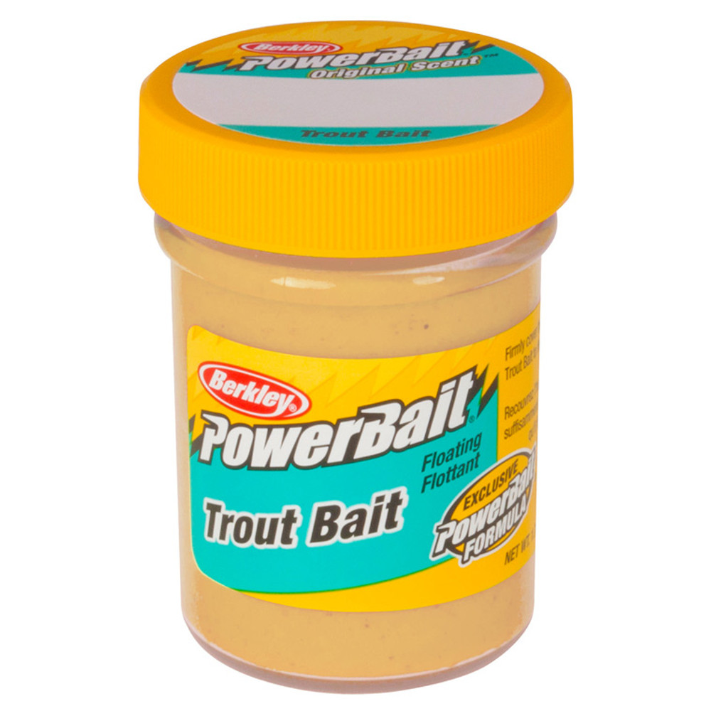 PowerBait Original Scent Trout Bait, 50 g In Yellow