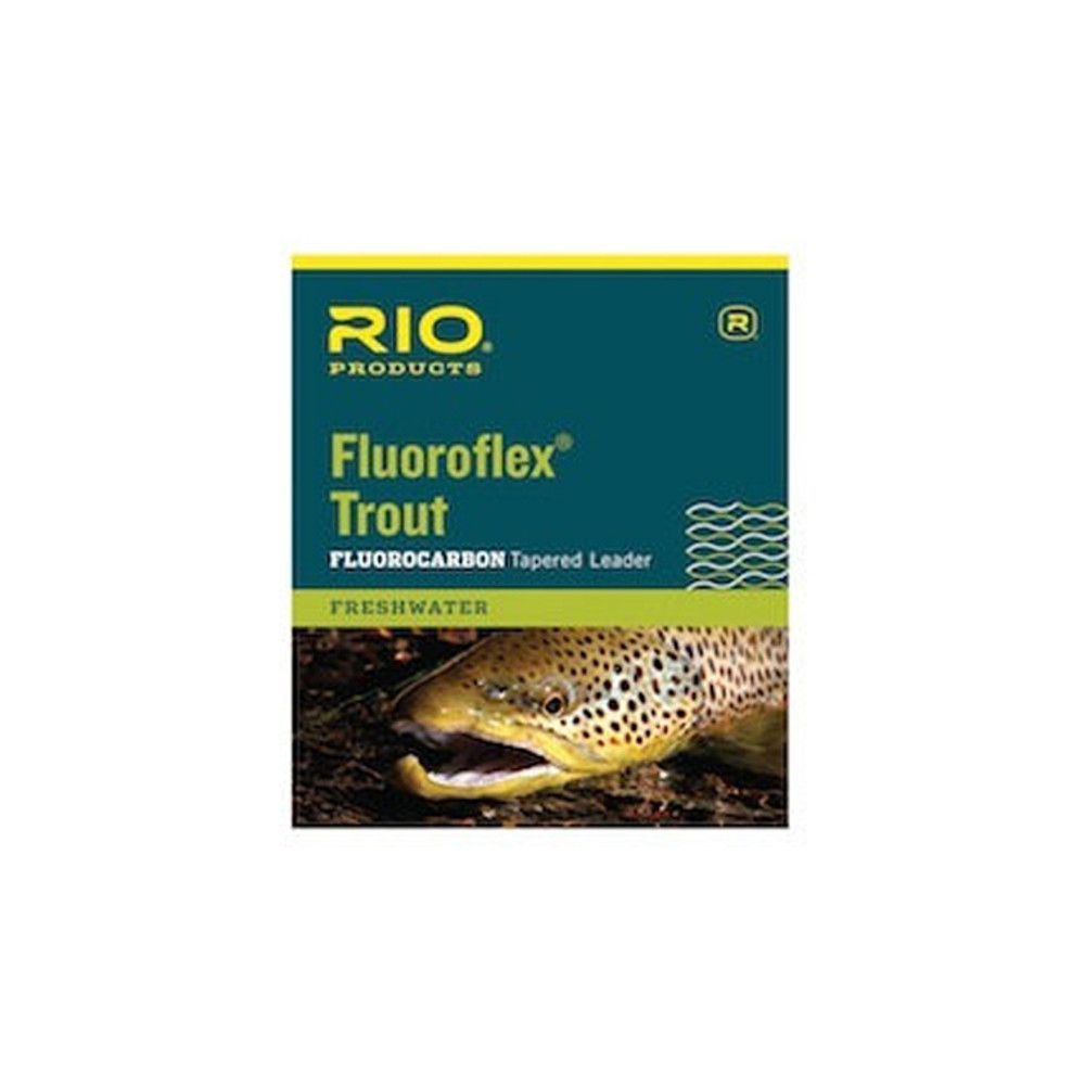 Rio Fluoroflex Tapered Leader, 9 ft