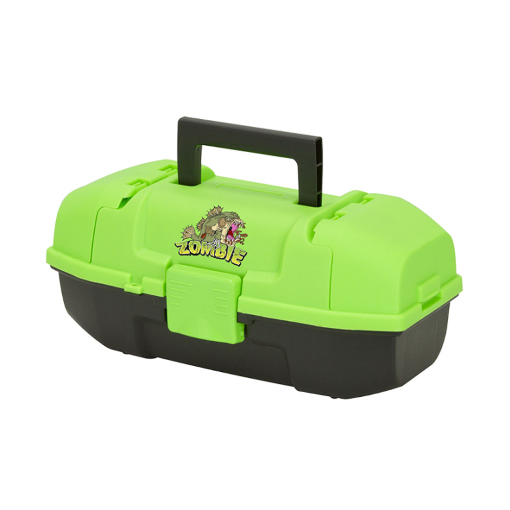 Plano Youth Tackle Box w/Tray, Zombie Fish