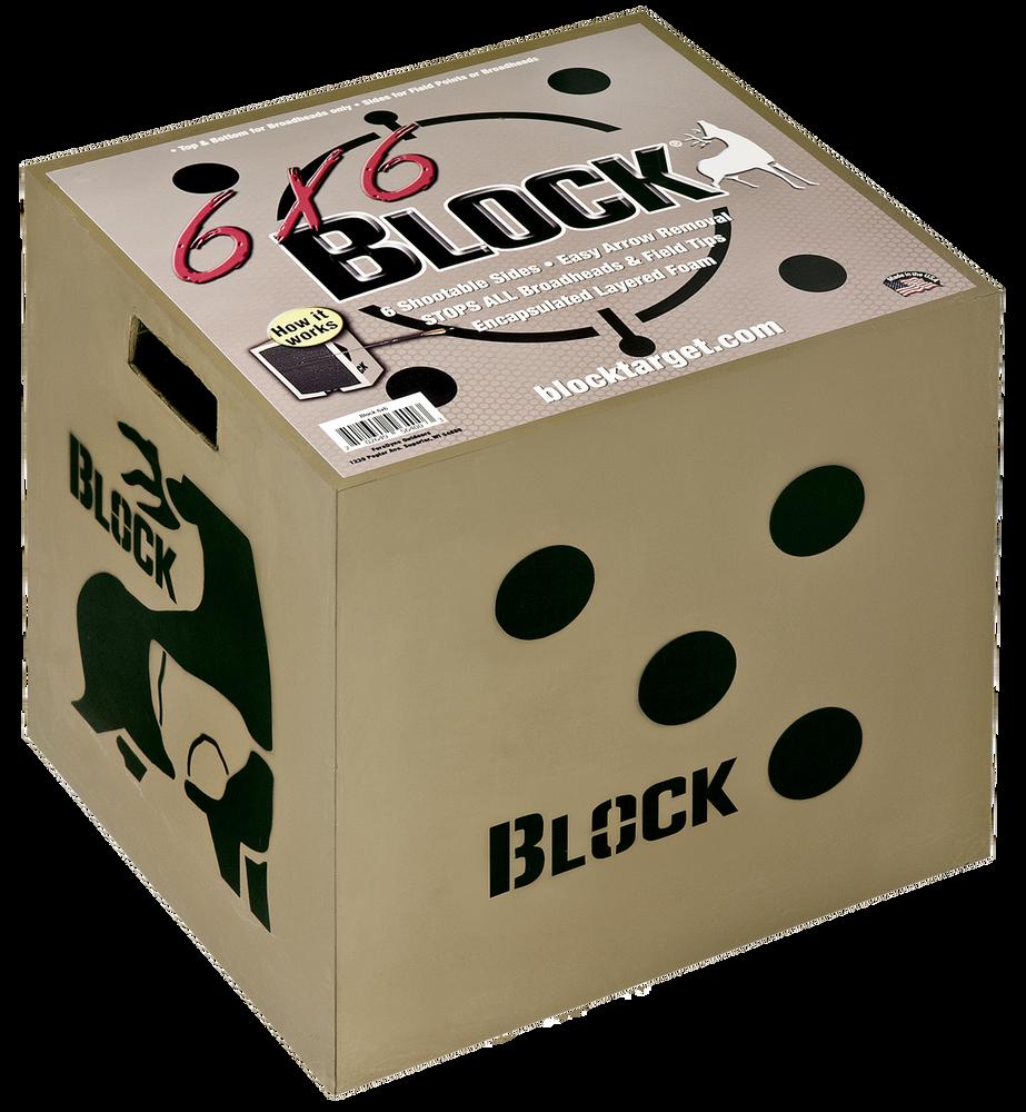 Block 6x6 Crossbow Target