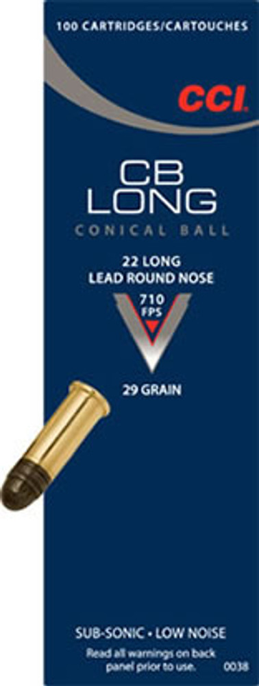CCI CB 22 Long, 29 Gr Lead RN, 100 ct