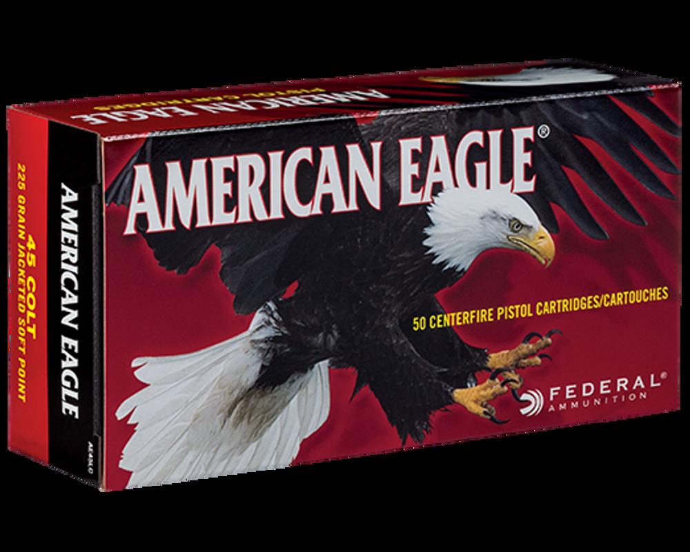 American Eagle, 45 Colt, 225 Gr Jacketed SP