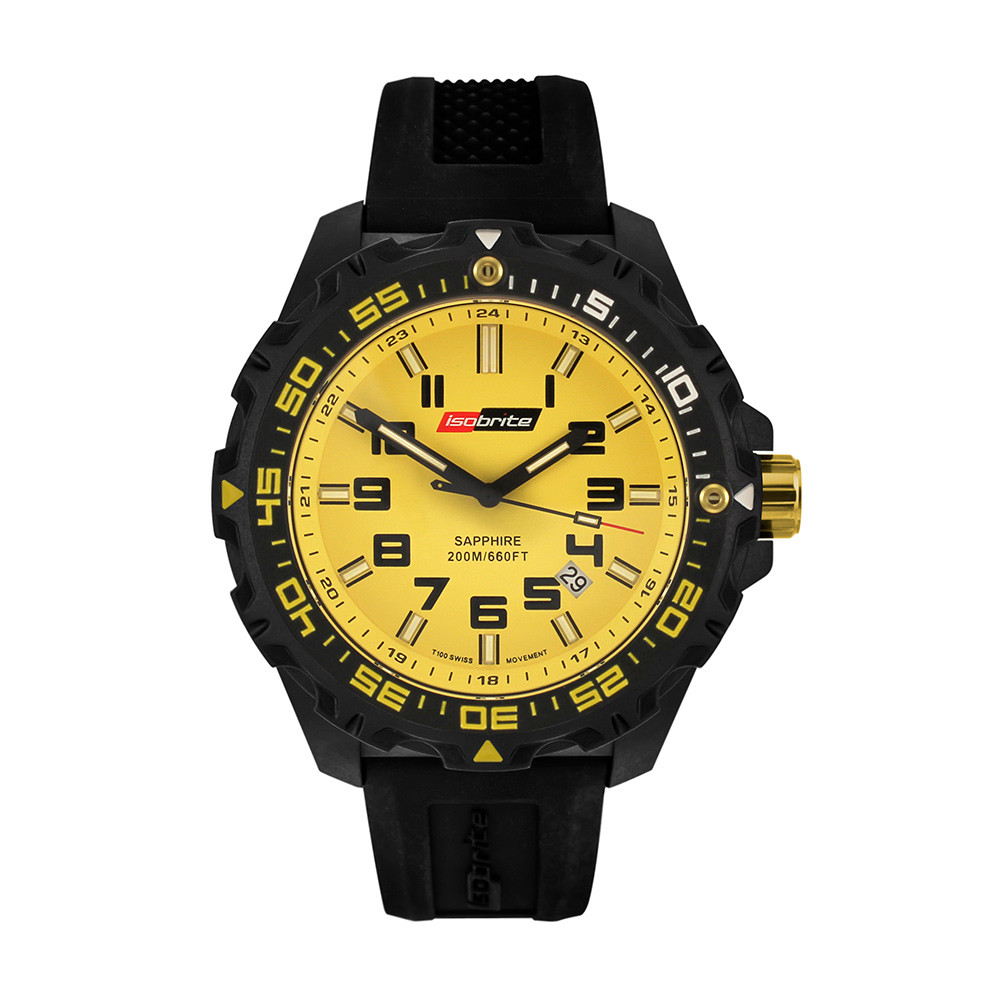 Isobrite Valor Series - Yellow Dial