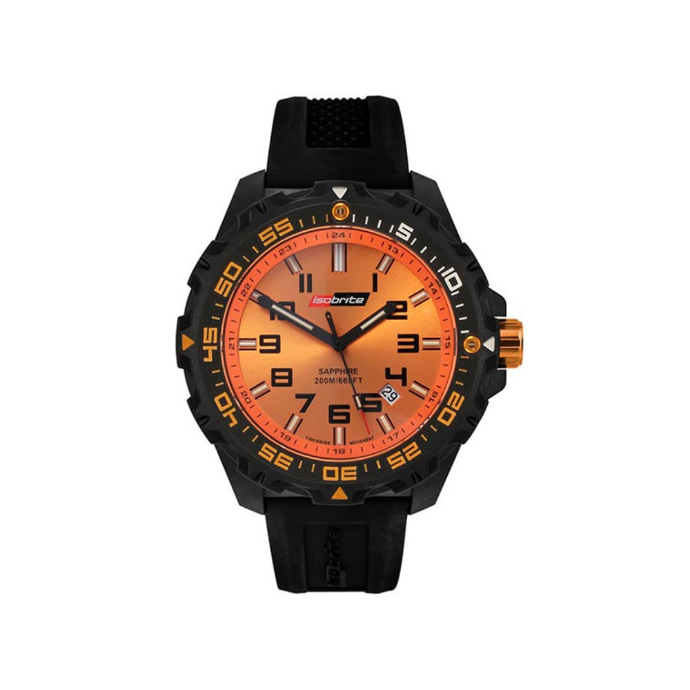 Isobrite Valor Series - Orange Dial