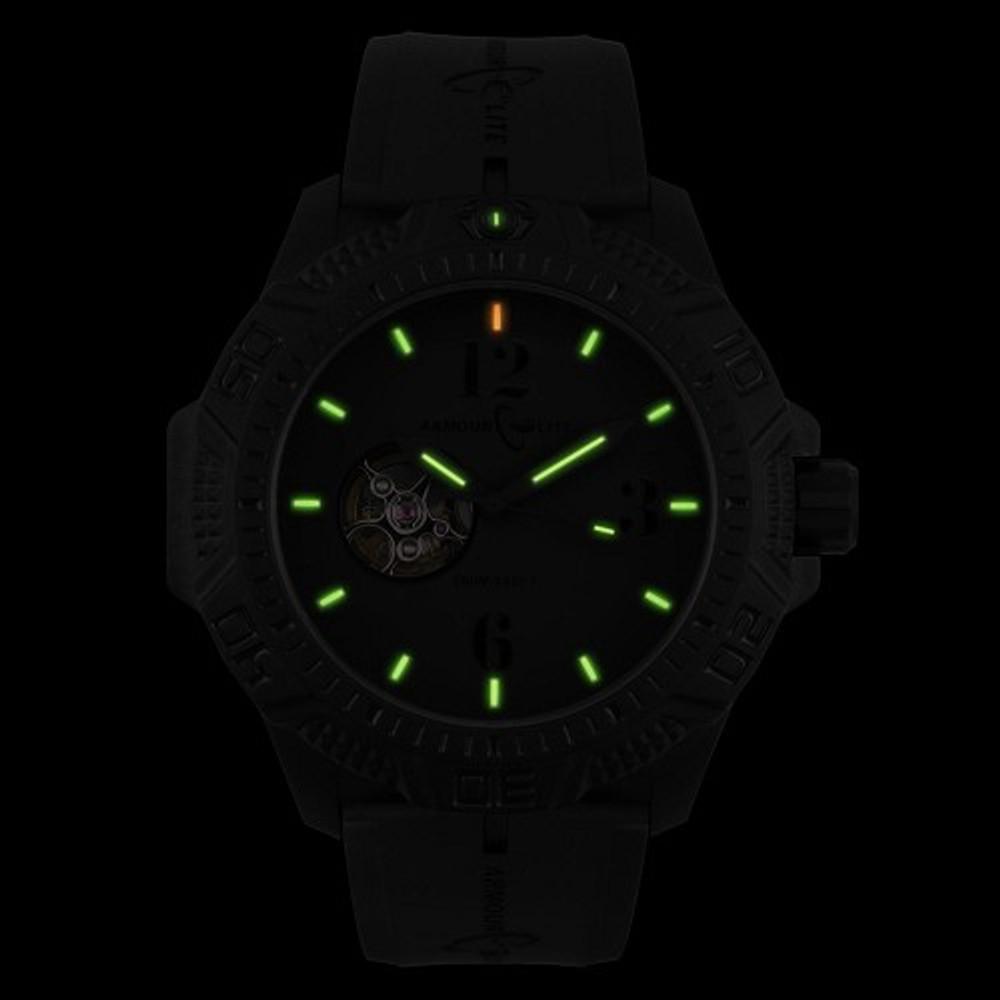 ArmourLite Caliber Series Black Face/Black Band - Illumination: Swiss-Made T25 tritium markers
