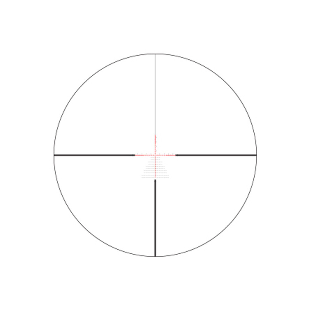 EBR-2C Reticle (MRAD)