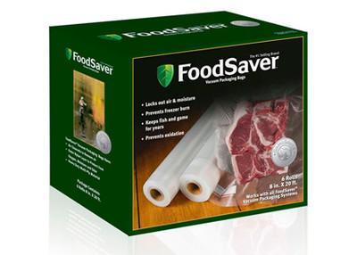"FoodSaver Heat-Seal Rolls, 8"", 6 pk"