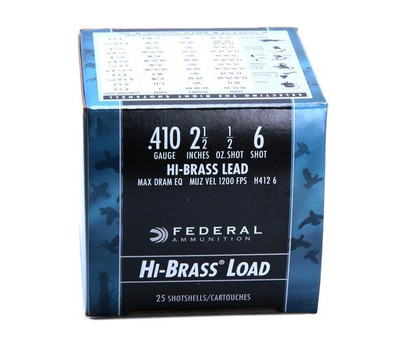 Federal Game-Shok Upland Hi-Brass, .410 Ga, 2.5""