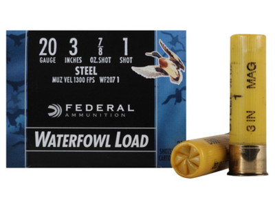 Federal Speed-Shok Waterfowl, 20 Ga, 3""