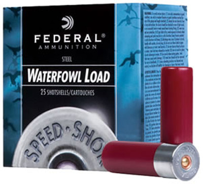 "Federal Speed-Shok Waterfowl, 12 Ga, 3"", 1550 fps"