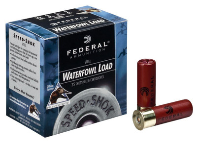 "Federal Speed-Shok Waterfowl, 12 Ga, 3.5"", 1550 fps"