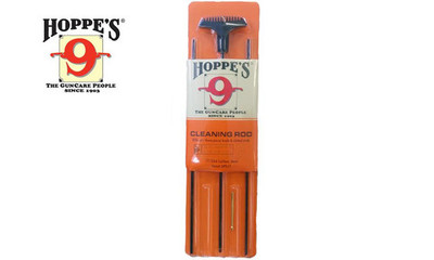 Hoppe's Cleaning Rod, 3 pc Rifle Set, .17/204 Cal