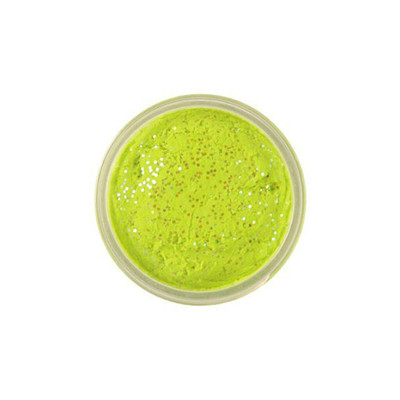 PowerBait Chroma-Glow Trout Bait, 50 g In Glitter Chartreuse