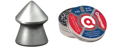 Crosman .22 Pointed Pellets, 175 pk