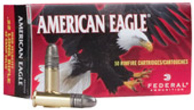 American Eagle 22 LR, 40 Gr Solid, 50 Count