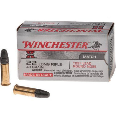 Winchester Super X, 22 LR, 40 Gr RN, 50 ct