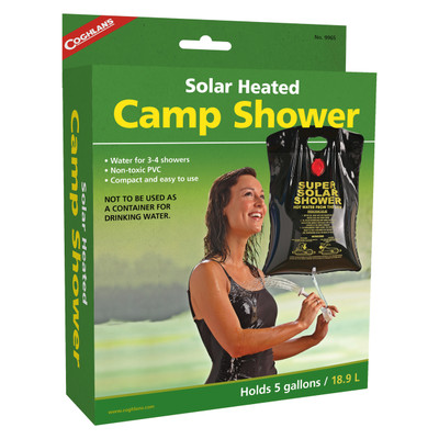 Coghlans Solar Heated Camp Shower