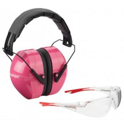 Champion Eyes & Ears Combo, Pink