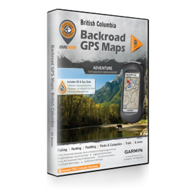 BRMB GPS Maps, British Columbia, SD