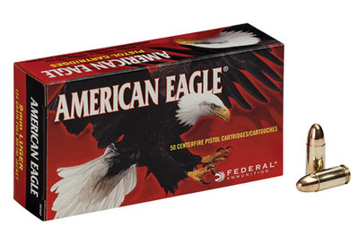 American Eagle, 9mm, 115 Gr FMJ
