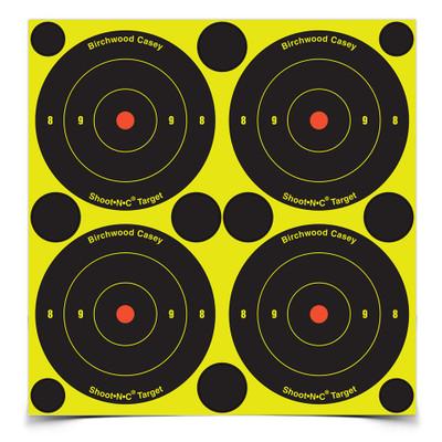 """Birchwood Casey Shoot-N-C 3"""" Bullseye, 48 pk"""