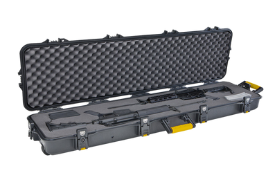 """Plano All Weather 52"""" Double Scoped Rifle Case, Wheeled"""