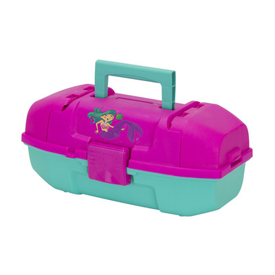 Plano Youth Tackle Box w/Tray, Mermaid