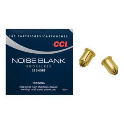 CCI 22 Short, Noise Blank, 100 ct