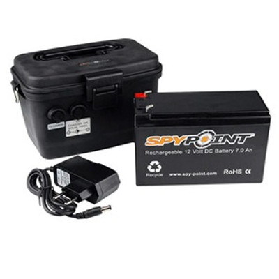 SpyPoint Rechargeable 12V Battery Kit