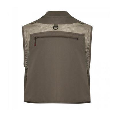 Redington First Run Fishing Vest, Grit/Terra - Back View