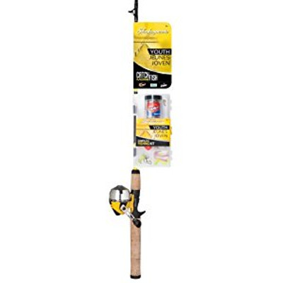 """Shakespeare Catch More Fish Youth Spin Cast Combo, 5'0"""", Medium Light"""
