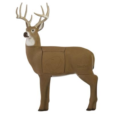 GlenDel Full Rut Buck 4-Sided Target
