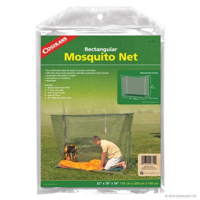 Coghlans Rectangular Mosquito Net, Green