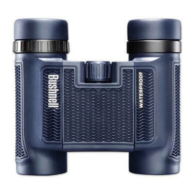 Bushnell H20 Black Roof 10 x 25 Binoculars, Blue