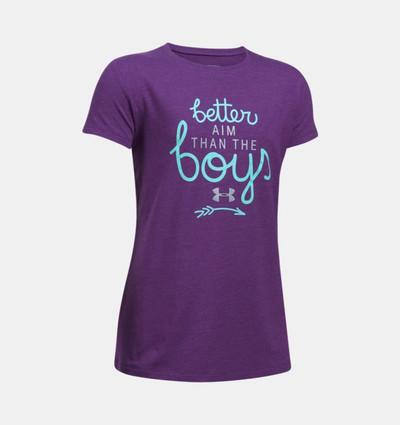 UA Youth Girl Better Aim then Boys