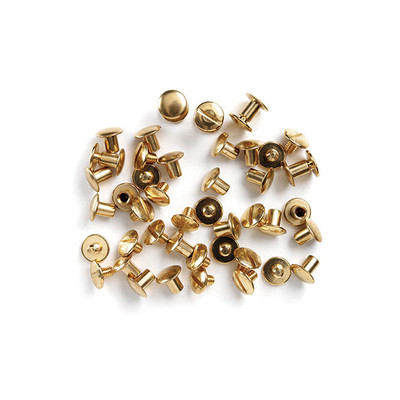 Uncle Mike's Solid Brass Chicago Screws, Each