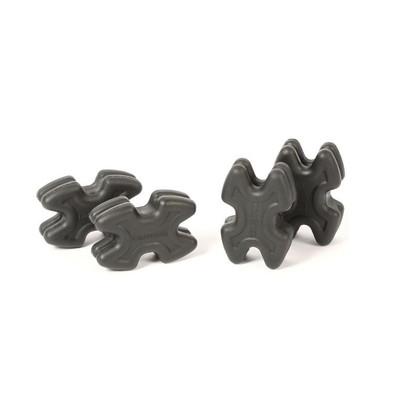 Limbsaver TwistLox Split Limb Dampener - 4 Pack - Black