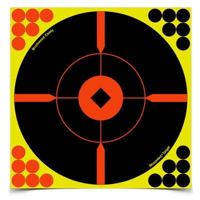 """Birchwood Casey Shoot-N-C 8"""" Bullseye BMW, 50 pk"""