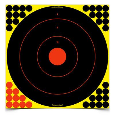 """Birchwood Casey Shoot-N-C 17.25"""" Bullseye, 5 pk"""