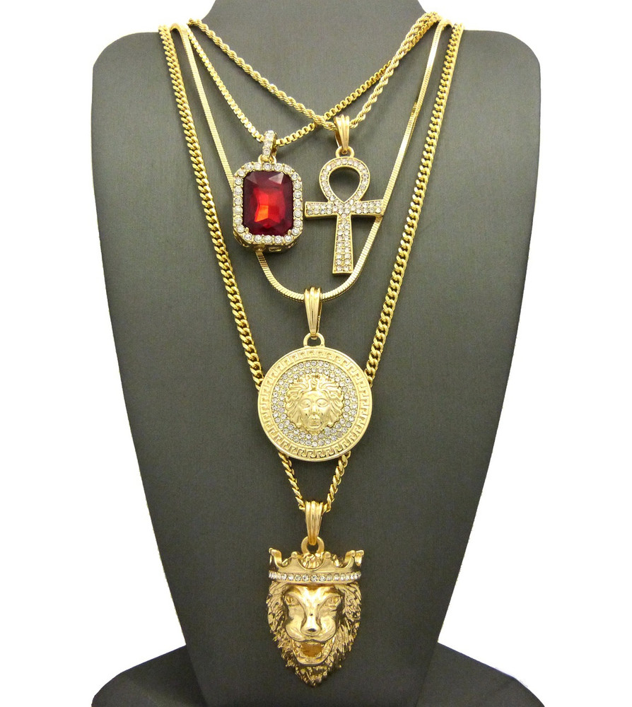 realreal products pendant medusa jewelry necklaces versace enlarged necklace the